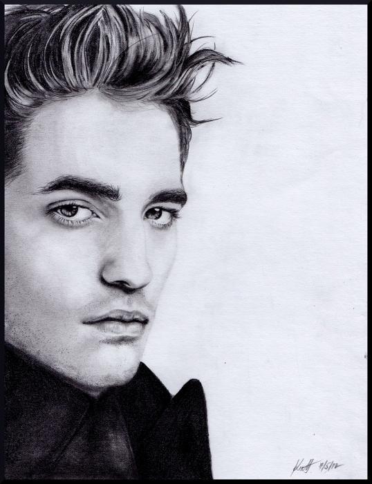 Robert Pattinson by zuzkakutt